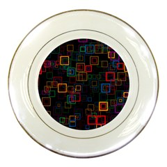 Retro Porcelain Display Plate by Siebenhuehner