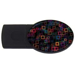 Retro 4gb Usb Flash Drive (oval) by Siebenhuehner