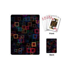 Retro Playing Cards (mini) by Siebenhuehner
