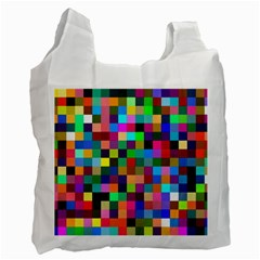 Tapete4 White Reusable Bag (two Sides) by Siebenhuehner