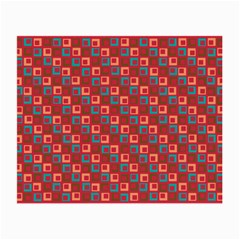 Retro Glasses Cloth (small, Two Sided) by Siebenhuehner