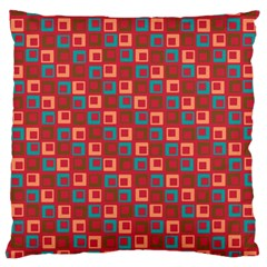 Retro Large Cushion Case (single Sided)  by Siebenhuehner