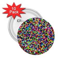 Color 2 25  Button (10 Pack) by Siebenhuehner