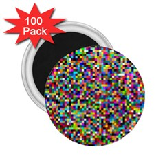 Color 2 25  Button Magnet (100 Pack) by Siebenhuehner