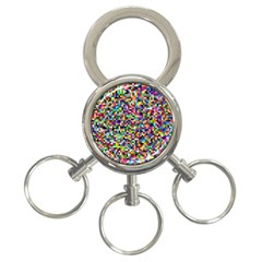 Color 3 Ring Key Chain by Siebenhuehner