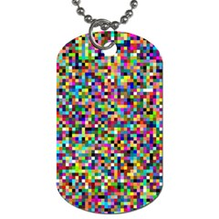 Color Dog Tag (two Sided)  by Siebenhuehner