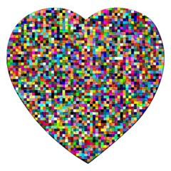 Color Jigsaw Puzzle (heart) by Siebenhuehner