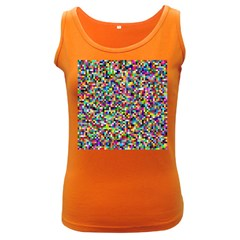 Color Women s Tank Top (dark Colored) by Siebenhuehner