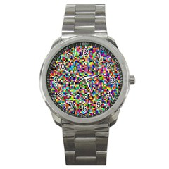Color Sport Metal Watch by Siebenhuehner
