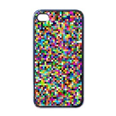 Color Apple Iphone 4 Case (black) by Siebenhuehner