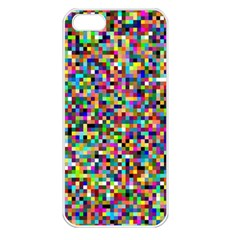 Color Apple Iphone 5 Seamless Case (white) by Siebenhuehner