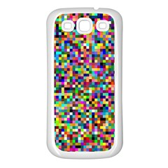 Color Samsung Galaxy S3 Back Case (white) by Siebenhuehner
