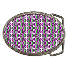 Retro Belt Buckle (oval) by Siebenhuehner