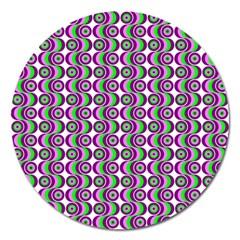 Retro Magnet 5  (round) by Siebenhuehner