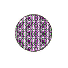 Retro Golf Ball Marker 4 Pack (for Hat Clip) by Siebenhuehner