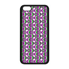 Retro Apple Iphone 5c Seamless Case (black) by Siebenhuehner