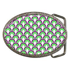 Retro Belt Buckle (oval) by Siebenhuehner