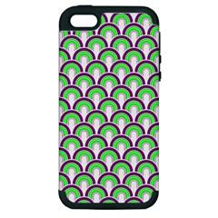 Retro Apple Iphone 5 Hardshell Case (pc+silicone) by Siebenhuehner
