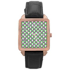 Retro Rose Gold Leather Watch  by Siebenhuehner