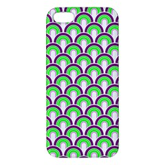 Retro Apple Iphone 5 Premium Hardshell Case by Siebenhuehner