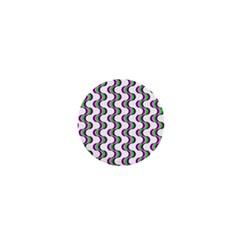 Retro 1  Mini Button by Siebenhuehner