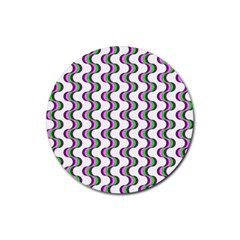 Retro Drink Coaster (round) by Siebenhuehner