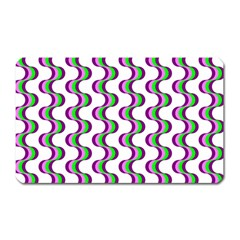 Retro Magnet (rectangular) by Siebenhuehner