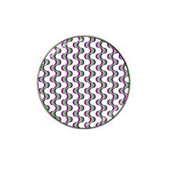 Retro Golf Ball Marker 10 Pack (for Hat Clip) by Siebenhuehner