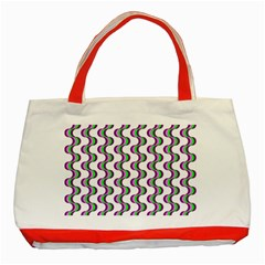 Retro Classic Tote Bag (red) by Siebenhuehner