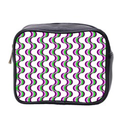 Retro Mini Travel Toiletry Bag (two Sides) by Siebenhuehner