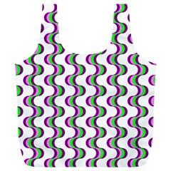 Retro Reusable Bag (xl) by Siebenhuehner
