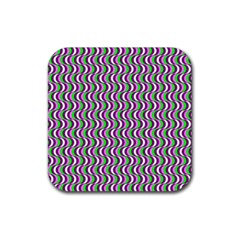 Pattern Drink Coaster (square) by Siebenhuehner