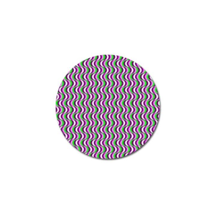 Pattern Golf Ball Marker 10 Pack