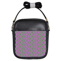Pattern Girl s Sling Bag by Siebenhuehner