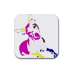 Untitled 3 Colour Drink Coasters 4 Pack (square) by nadiajanedesign