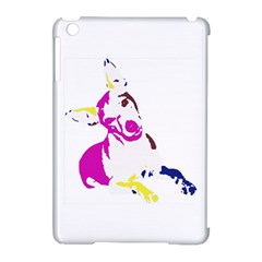 Untitled 3 Colour Apple Ipad Mini Hardshell Case (compatible With Smart Cover) by nadiajanedesign