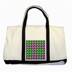 Pattern Two Toned Tote Bag by Siebenhuehner