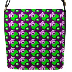Pattern Flap Closure Messenger Bag (small) by Siebenhuehner