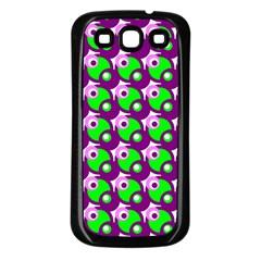 Pattern Samsung Galaxy S3 Back Case (black) by Siebenhuehner