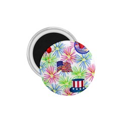 Patriot Fireworks 1 75  Button Magnet by StuffOrSomething
