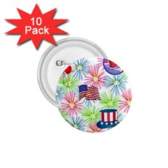 Patriot Fireworks 1 75  Button (10 Pack) by StuffOrSomething