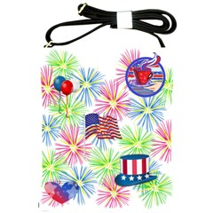 Patriot Fireworks Shoulder Sling Bag by StuffOrSomething