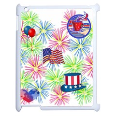 Patriot Fireworks Apple Ipad 2 Case (white) by StuffOrSomething