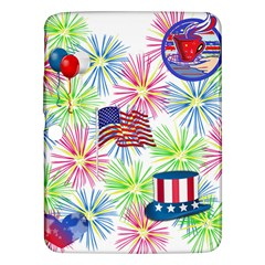 Patriot Fireworks Samsung Galaxy Tab 3 (10 1 ) P5200 Hardshell Case  by StuffOrSomething