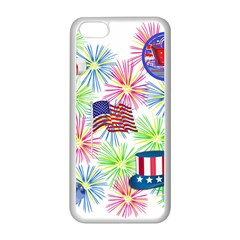Patriot Fireworks Apple Iphone 5c Seamless Case (white) by StuffOrSomething