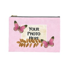 Repose Lg Cosmetic Bag By Lisa Minor   Cosmetic Bag (large)   0y2gi2rqjijm   Www Artscow Com Front