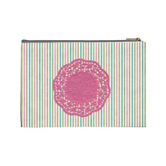 Repose Lg Cosmetic Bag By Lisa Minor   Cosmetic Bag (large)   0y2gi2rqjijm   Www Artscow Com Back