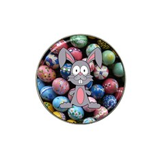 Easter Egg Bunny Treasure Golf Ball Marker 4 Pack (for Hat Clip) by StuffOrSomething