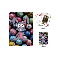 Easter Egg Bunny Treasure Playing Cards (mini) by StuffOrSomething