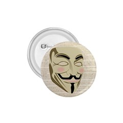 We The Anonymous People 1 75  Button by StuffOrSomething